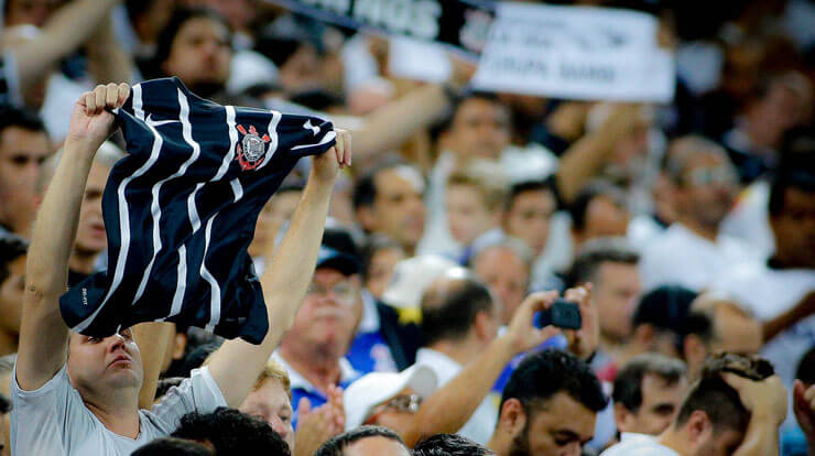 Torcida do Corinthians - Arena