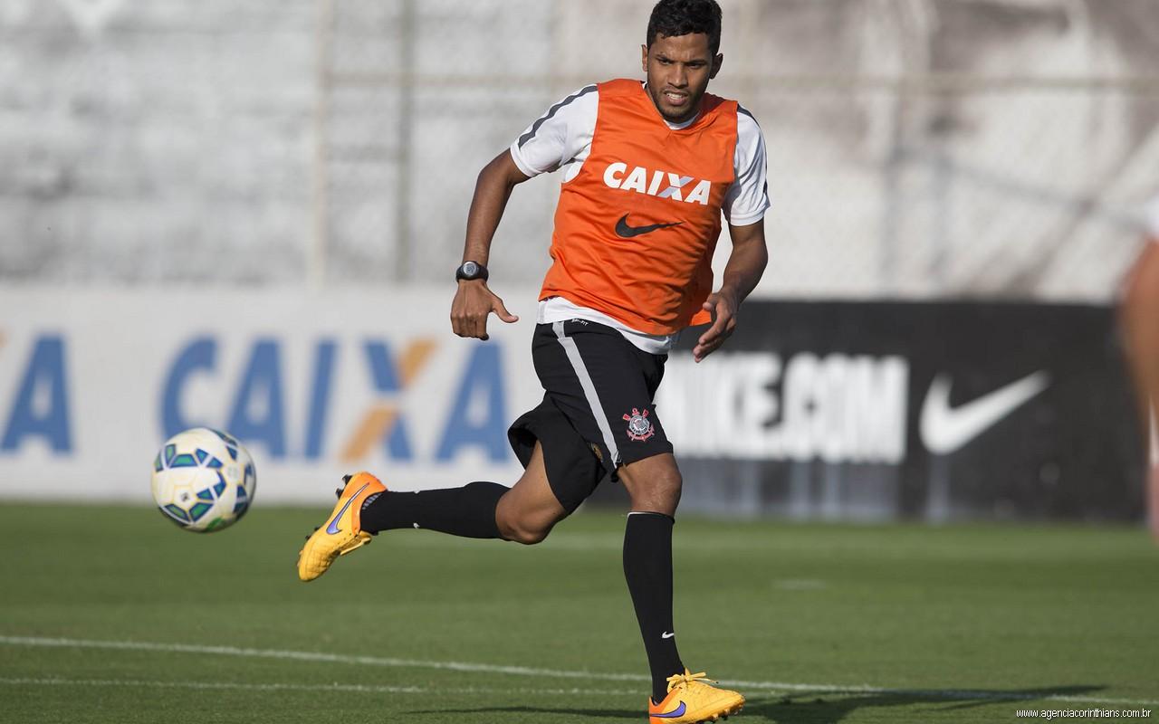 Yago - Treino do Corinthians