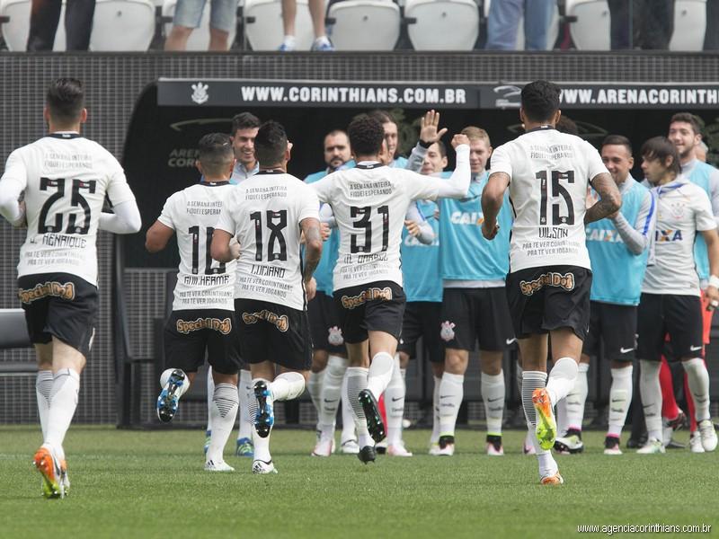 Corinthians 3 x 0 Ponte Preta