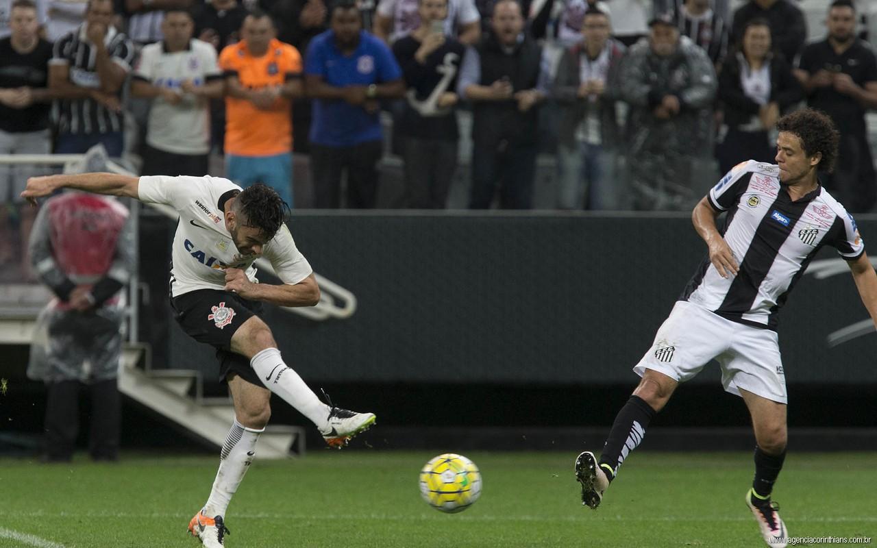 Bruno Henrique - Corinthians 1 x 0 Santos
