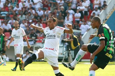 Corinthians x América-MG