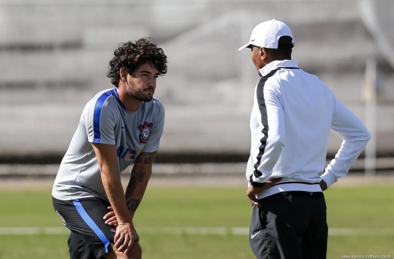 Alexandre Pato - Cristóvão Borges - Corinthians