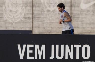 Alexandre Pato - Treino do Corinthians