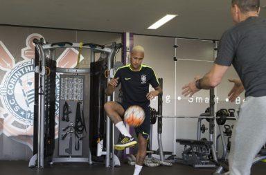 Neymar - Treino Corinthians
