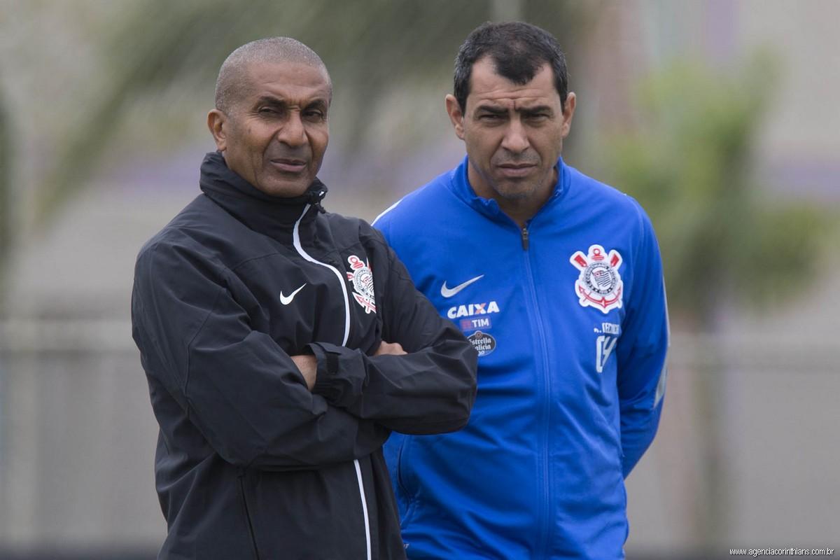 Cristóvão Borges - Fabio Carille - Corinthians