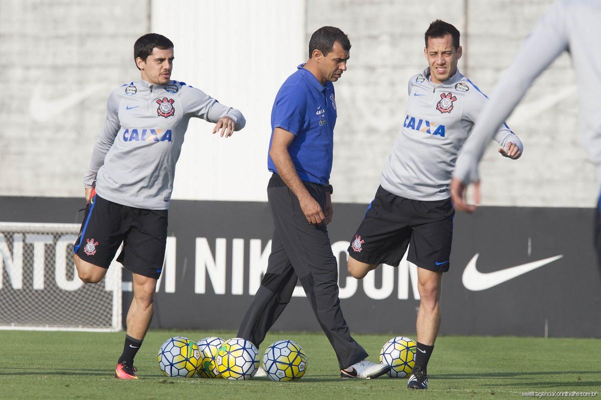 Fagner - Carille - Rodriguinho - Corinthians