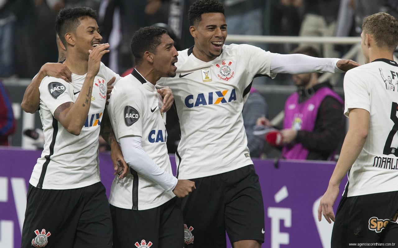 Jogadores- Gol - Corinthians 3 x 0 Sport