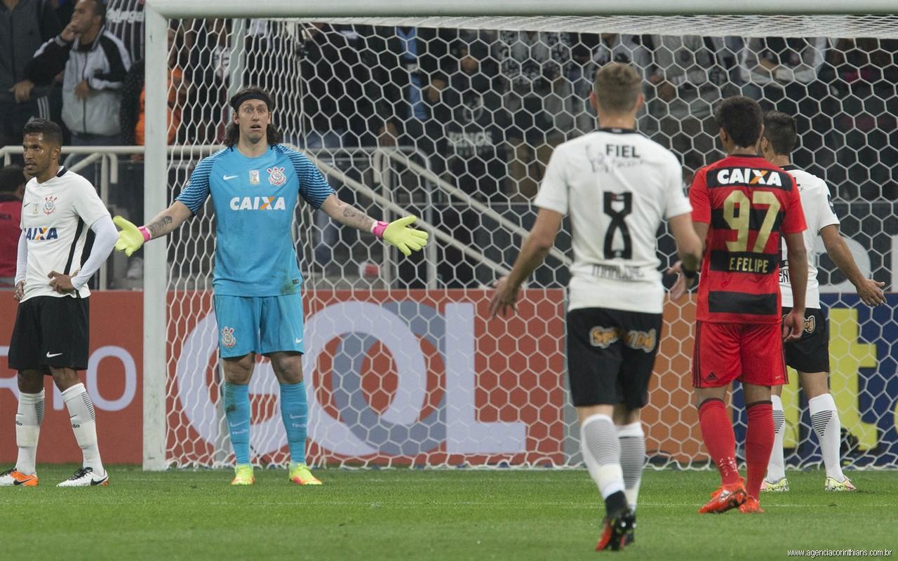 Yago - Cassio - Marlone - Corinthians x Sport