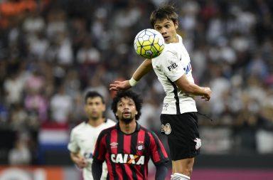Romero - Corinthians 0 x 0 Atlético-PR
