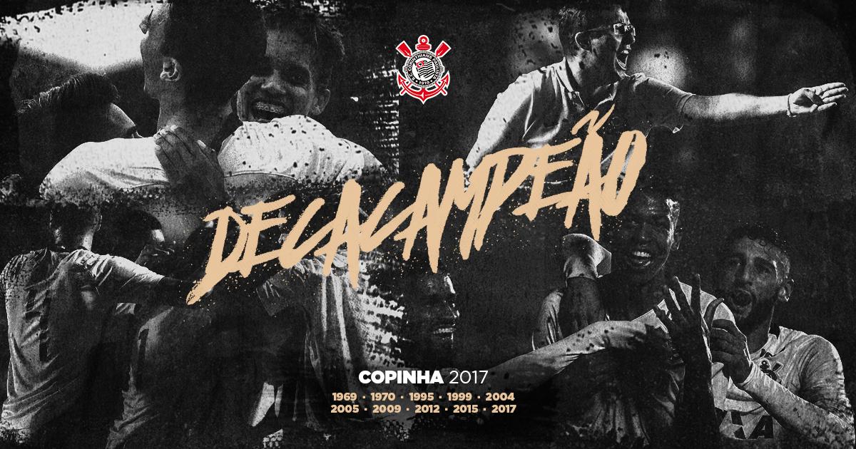 Dez vezes Timão! Corinthians vence Batatais e é decacampeão da Copa São Paulo de Futebol Júnior