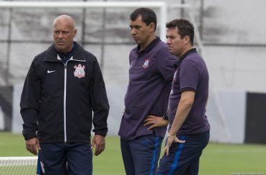 Fabio Carille - Osmar Loss - Mauri - Corinthians