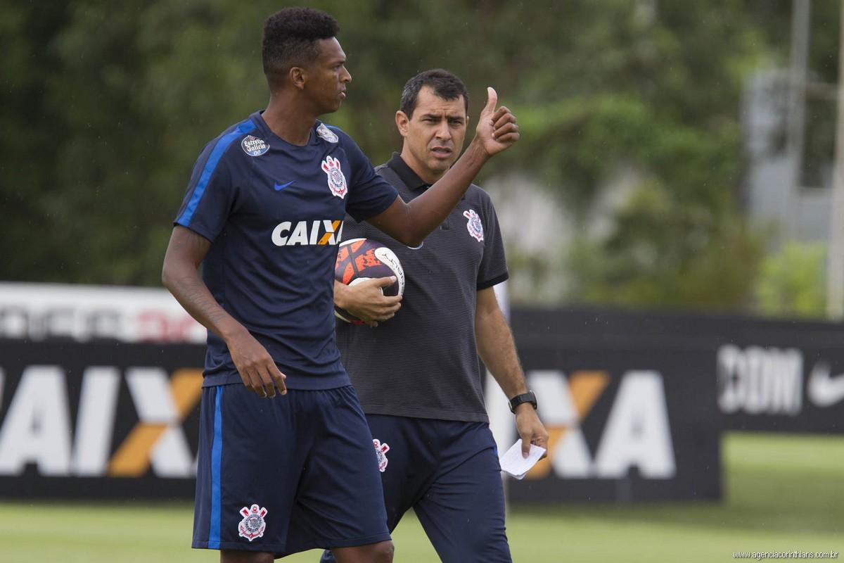 Jô - Fabio Carille - Corinthians