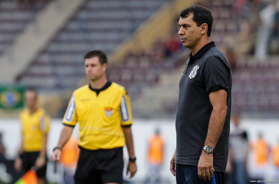 Fabio Carille - Ferroviária 1 x 0 Corinthians