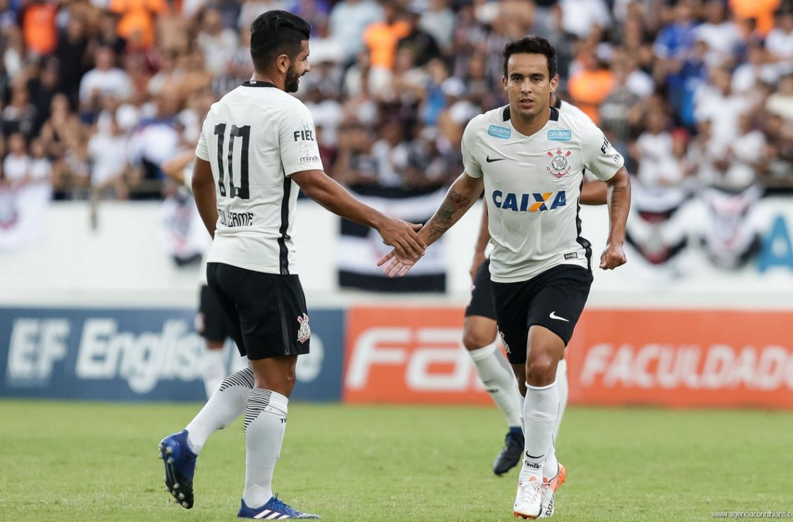 Guilherme - Jadson - Ferroviária 1 x 0 Corinthians