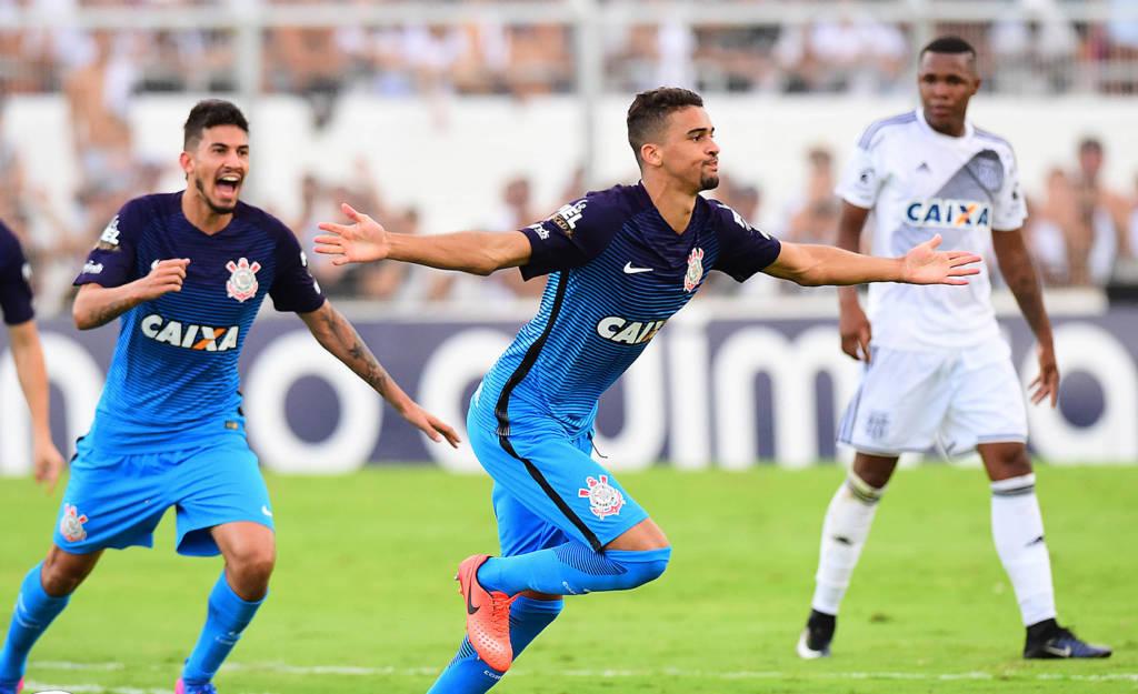 Léo Santos - Ponte Preta 1 x 1 Corinthians