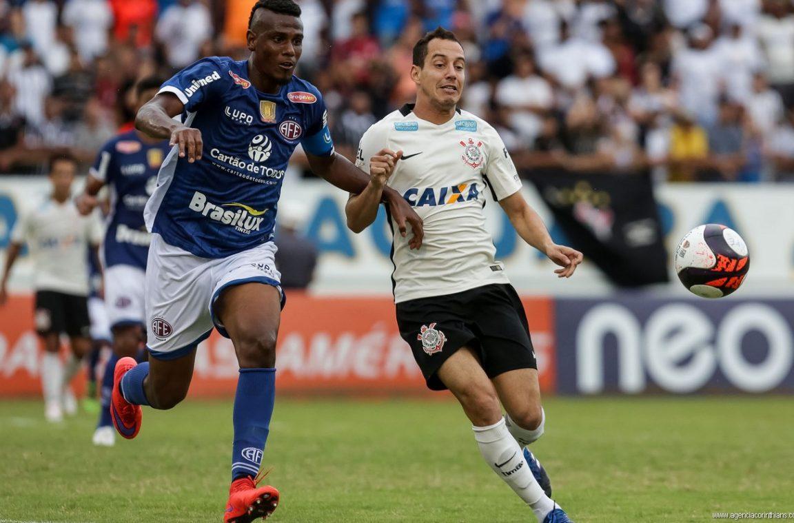 Rodriguinho - Ferroviária 1 x 0 Corinthians