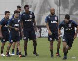 Treino - Jogadores Corinthians