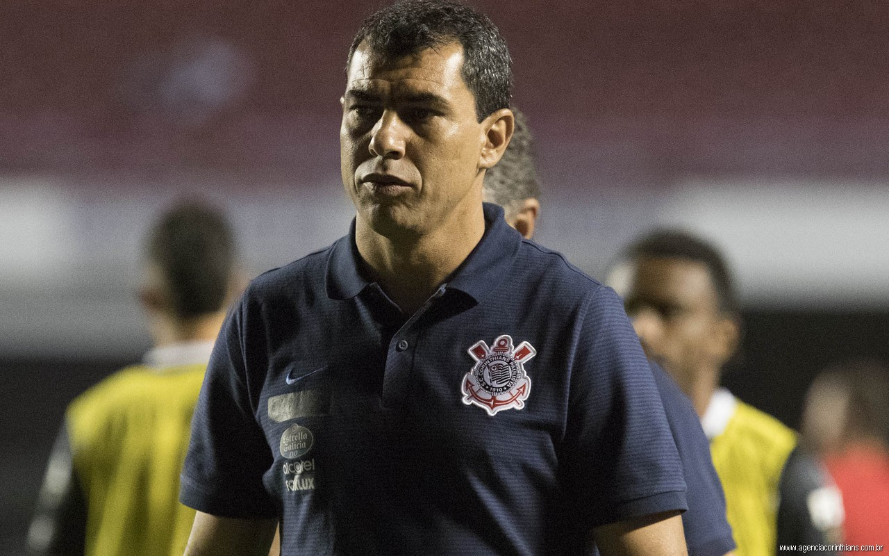 Fábio Carille - São Paulo 0 x 2 Corinthians
