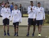 Jogadores - Treino Corinthians