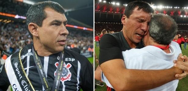 Carille e Zé Ricardo alcançaram o topo por Corinthians e Flamengo