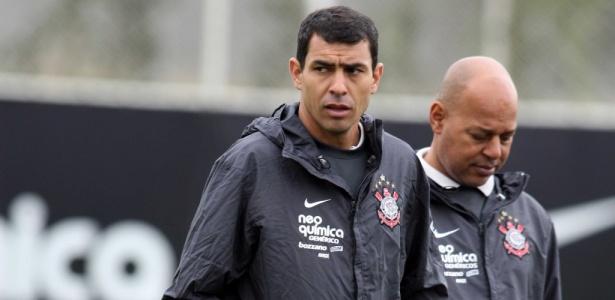 Fábio Carille no Corinthians, em 2010: auxiliar e interino virou ponto forte