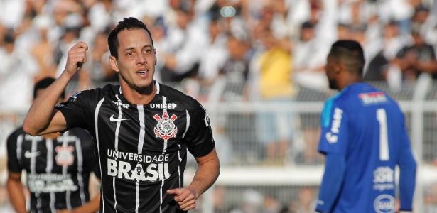 Rodriguinho já marcou oito gols pelo Corinthians na temporada 2017