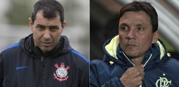 Carille e Zé Ricardo medirão forças neste domingo em Itaquera