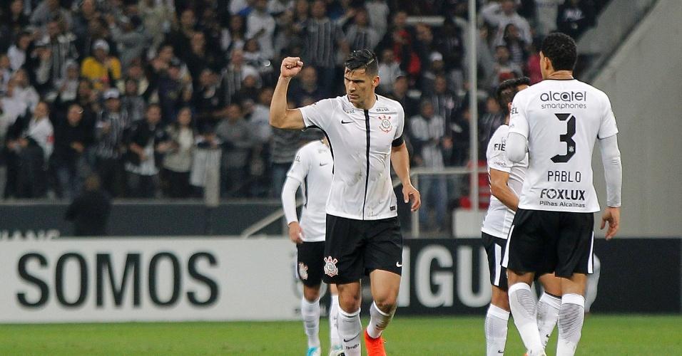 Possibilidade de desfalque de Pablo no Corinthians não preocupa Balbuena