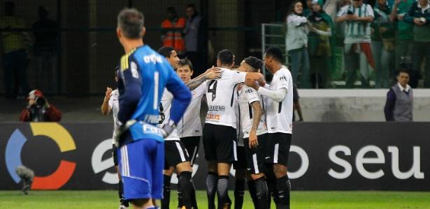 A discussão foi após a vitória do Corinthians por 2 a 0 sobre o Palmeiras