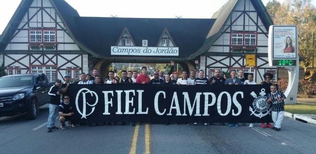 Torcedores de Campos do Jordão planejam assistir mais oito jogos do Corinthians em 2017