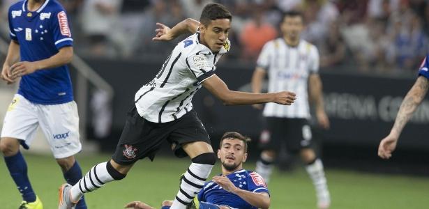 Matheus Pereira, mais conhecido como Pirulão, estreou nos profissionais do Corinthians em 2015