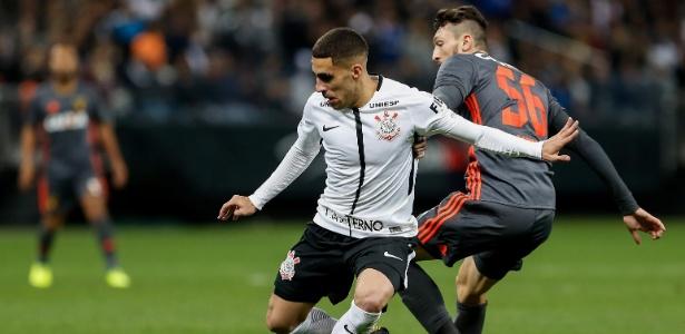 Gabriel em ação na vitória por 3 a 1 sobre o Sport no último sábado