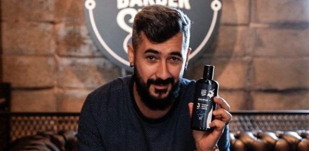 Douglas, do Grêmio, já tem linha de produtos para barba e até cerveja