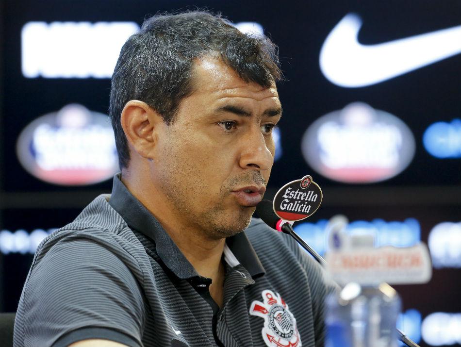 Carille veta dois nomes importantes do Corinthians para duelo da Sul-Americana