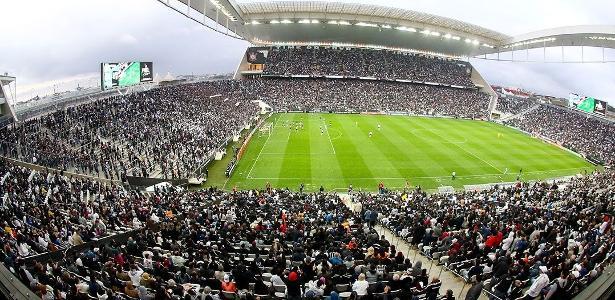 Somente oito parcelas do financiamento da Arena Corinthians foram pagas