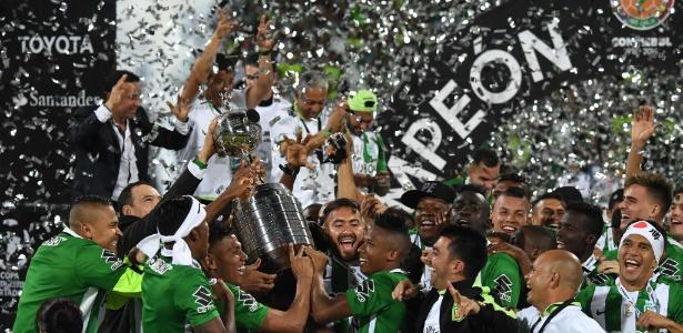 Atlético Nacional é o atual campeão da Libertadores