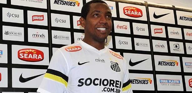 Renato Abreu defendeu o Santos em 2013 e realizou o sonho do pai