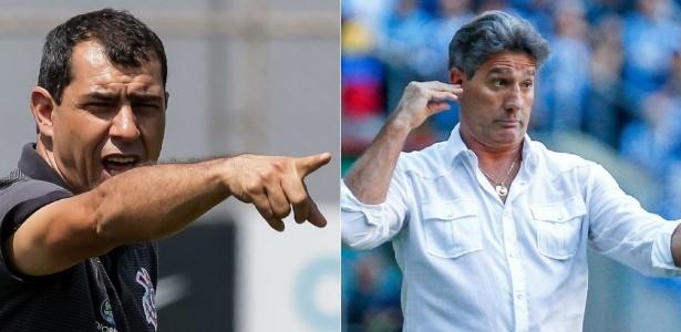 Renato e Carille voltarão a medir forças diretamente neste Campeonato Brasileiro