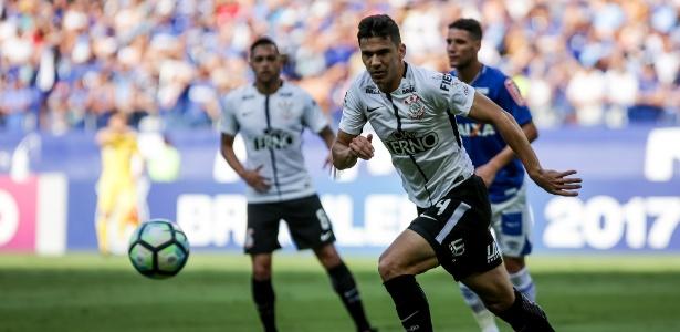 Balbuena ficou feliz com a vantagem que o Corinthians mantém