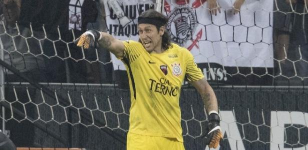 Cássio quer jogar as três partidas restantes do Corinthians no Brasileirão