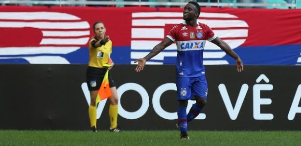 Stiven Mendoza foi um dos destaques do Bahia no Campeonato Brasileiro