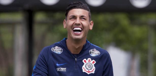 Marciel entrou em campo nove vezes pelo Corinthians na temporada 2017