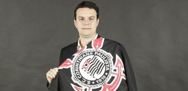 Felipe Ezabella, do grupo Corinthians Grande, é um dos candidatos na eleição alvinegra