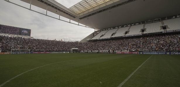 Gramado da Arena Corinthians será substituído na próxima semana