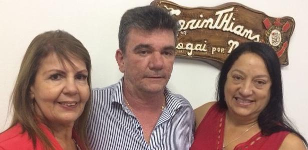 Lourdes (à esquerda) foi retirada da candidatura de vice-presidente no Corinthians
