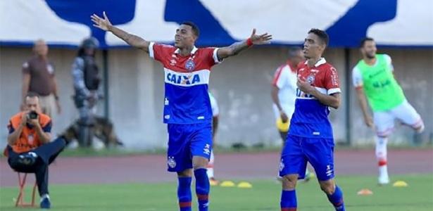Gustagol defendeu Bahia (foto) e Goiás na temporada 2017