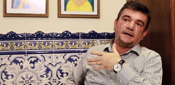 Andrés Sanchez em entrevista ao UOL Esporte concedida em 2016