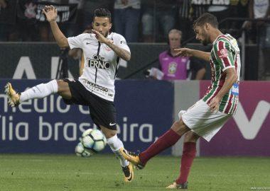 Scarpa - Clayson - Corinthians x Fluminense