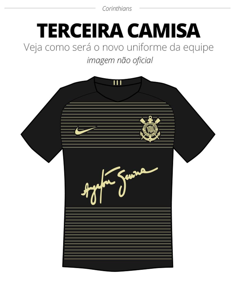 Camisa III - Corinthians Ayrton Senna