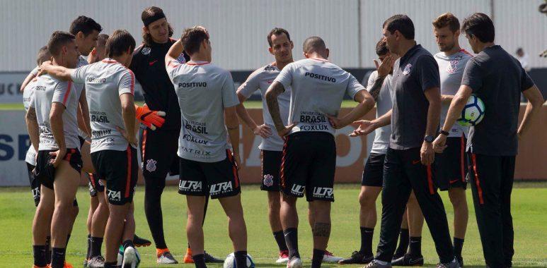 Carille - Jogadores do Corinthians